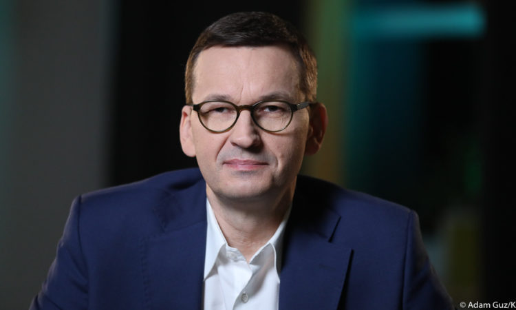 Premier Mateusz Morawiecki w wywiadzie dla niemieckiego dziennika FAZ.