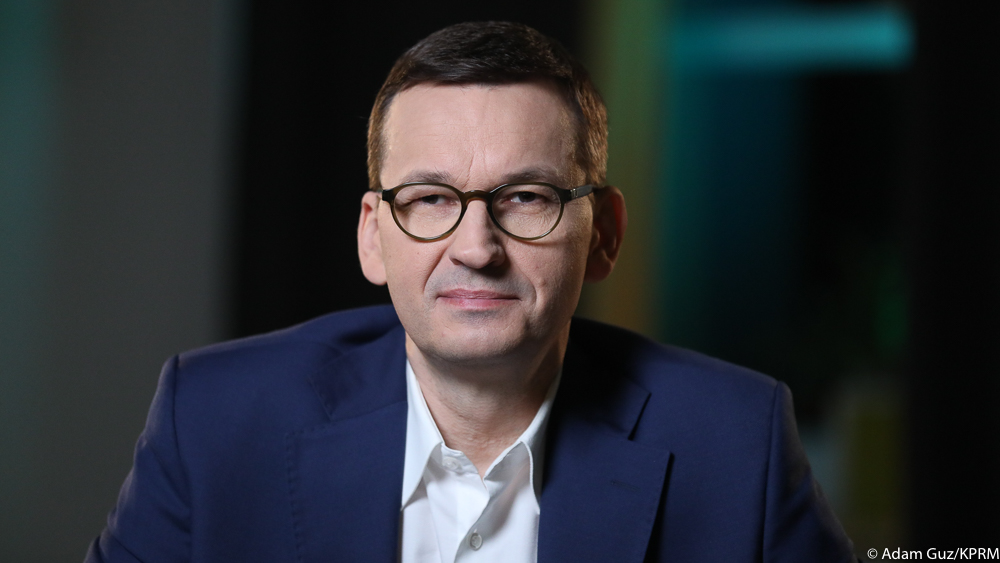 Premier Mateusz Morawiecki udzielił wywiadu dla Frankfurter Allgemeine Zeitung