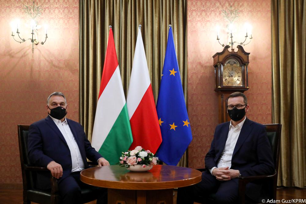 Wizyta szefa rządu Węgier w Kancelarii Premiera