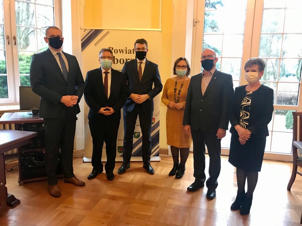 Wizyty w regionie i spotkania z samorządowcami