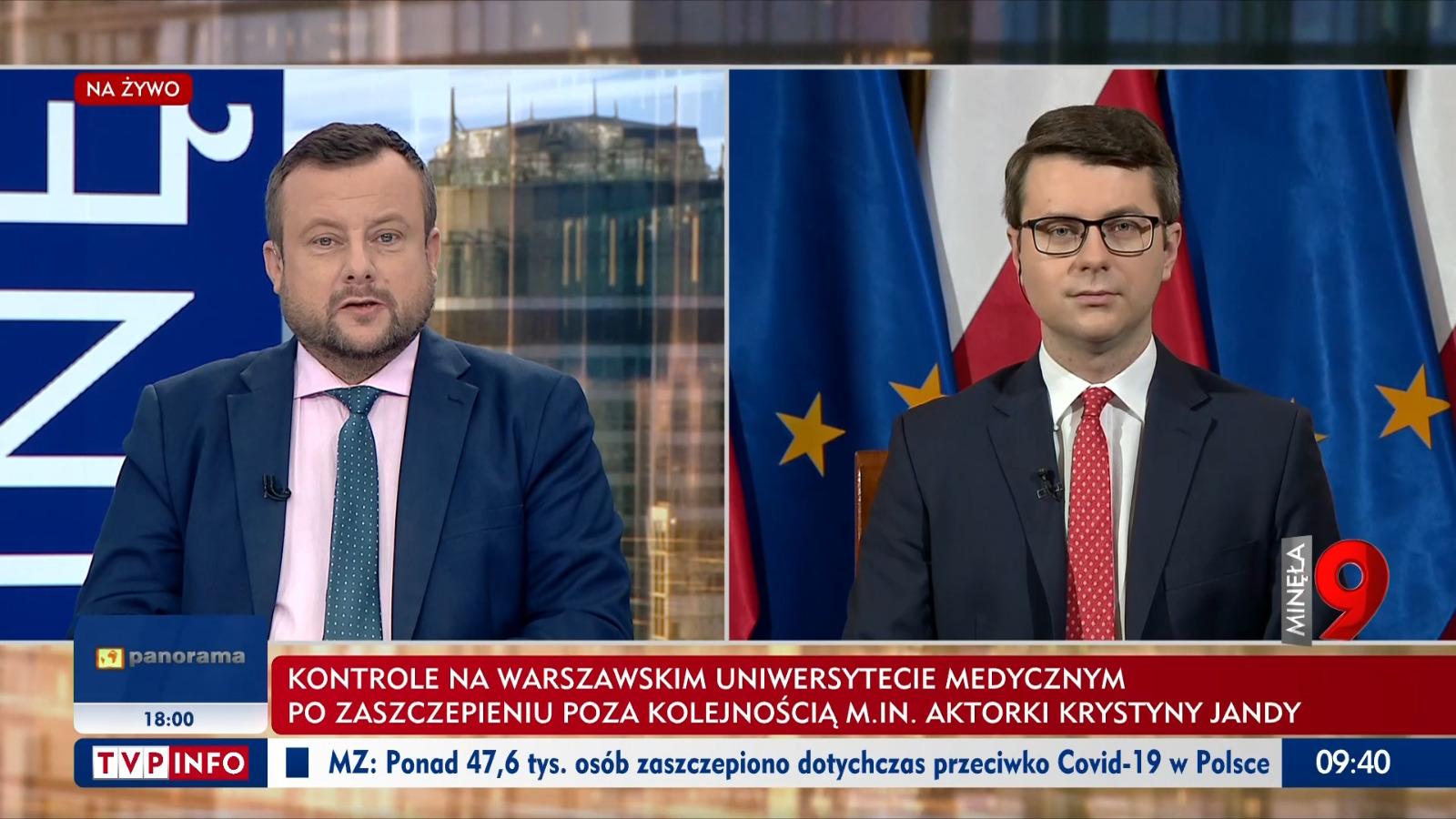 Gość w programie Minęła 9 TVP info