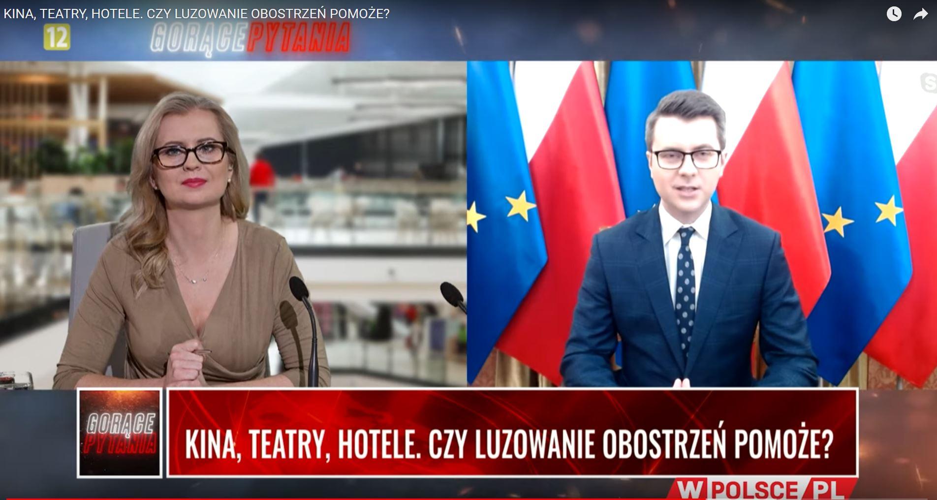 Udział Piotra Müllera w programie wPolsce.pl
