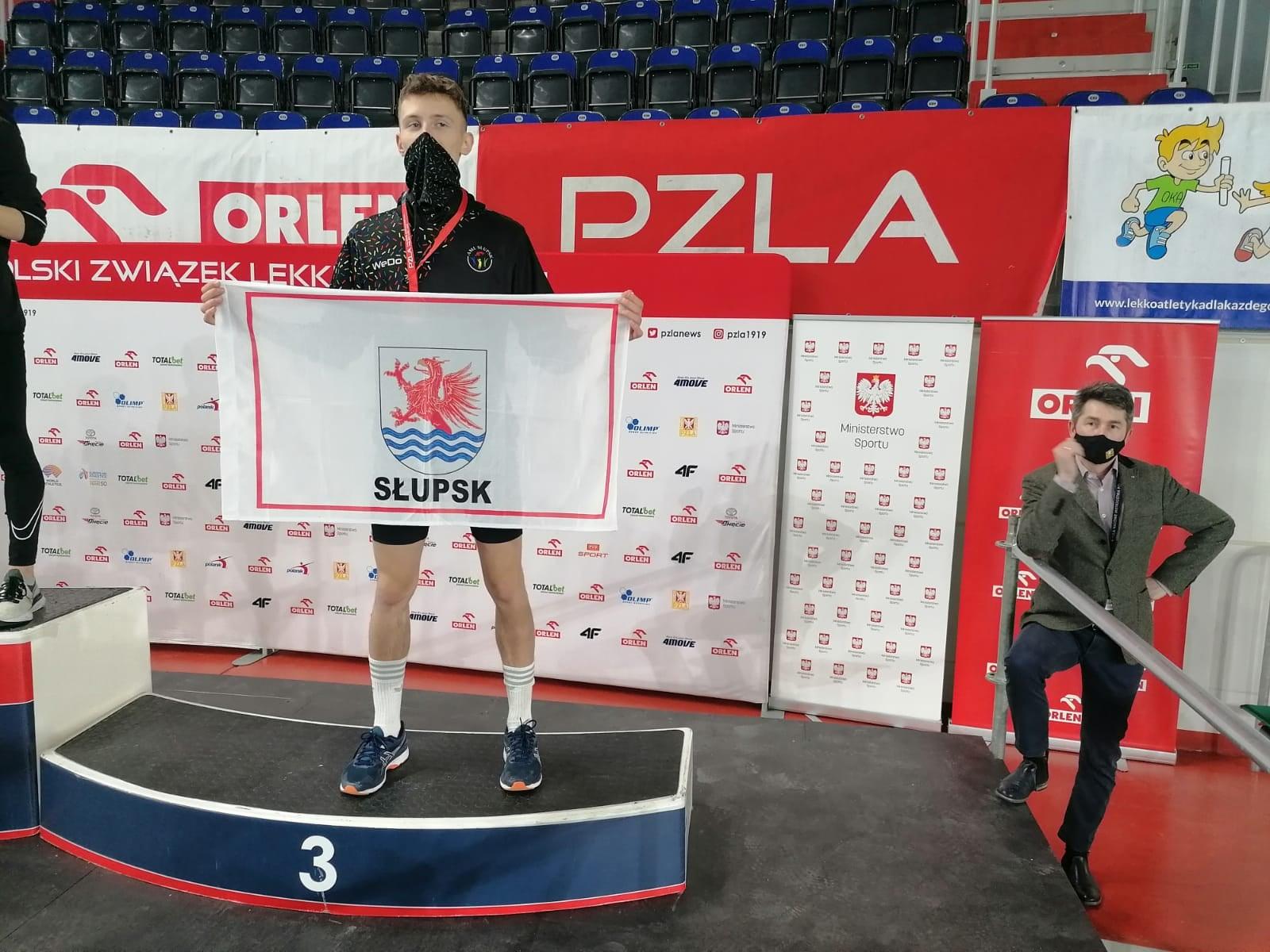 AML Słupsk na 2 miejscu podczas Halowych Mistrzostw Polski juniorów U18 i U20