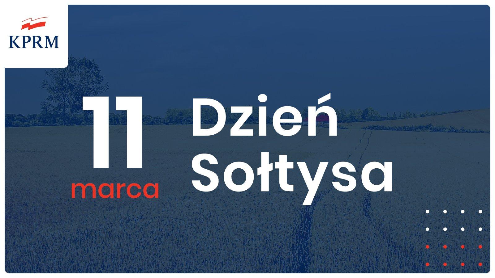 11 marca obchodzimy Ogólnopolski Dzień Sołtysa