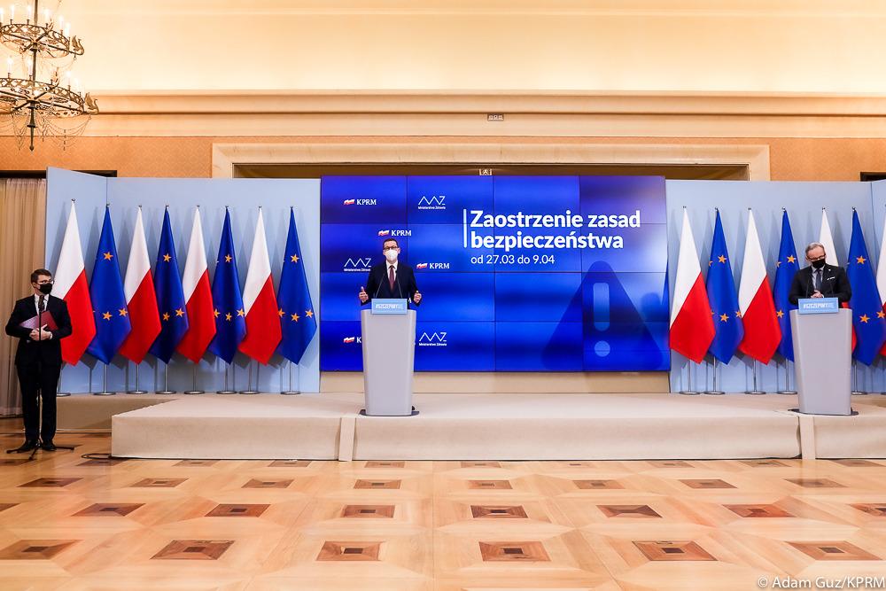 Nowe obostrzenia dot. koronawirusa w Polsce