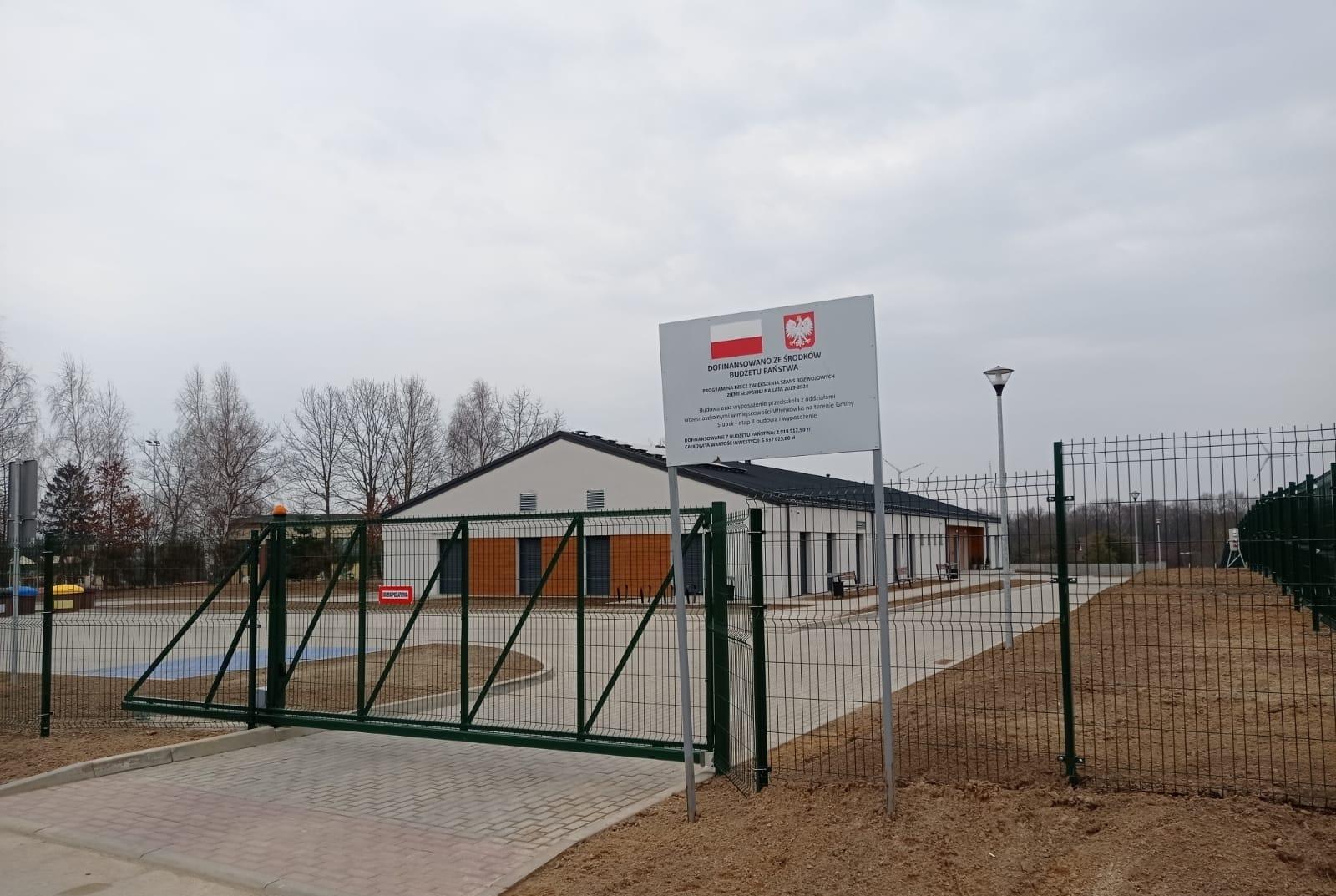 Nowe przedszkole we Włynkówku