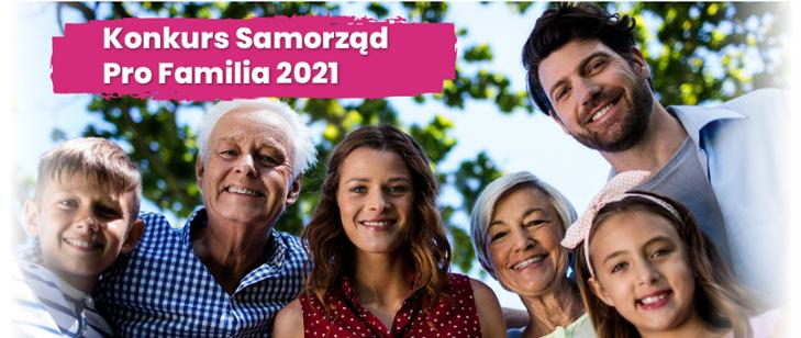 Konkurs Samorząd Pro Familia 2021
