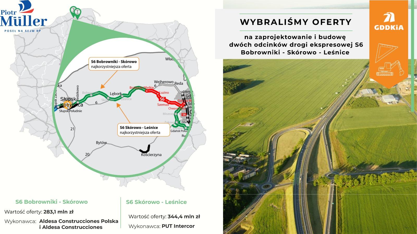 Dzięki budowie nowej trasy mieszkańcy uzyskają poprawę płynności ruchu, skrócenie czasu przejazdu, odciążenie układu dróg i ulic lokalnych czy poprawę stanu bezpieczeństwa.