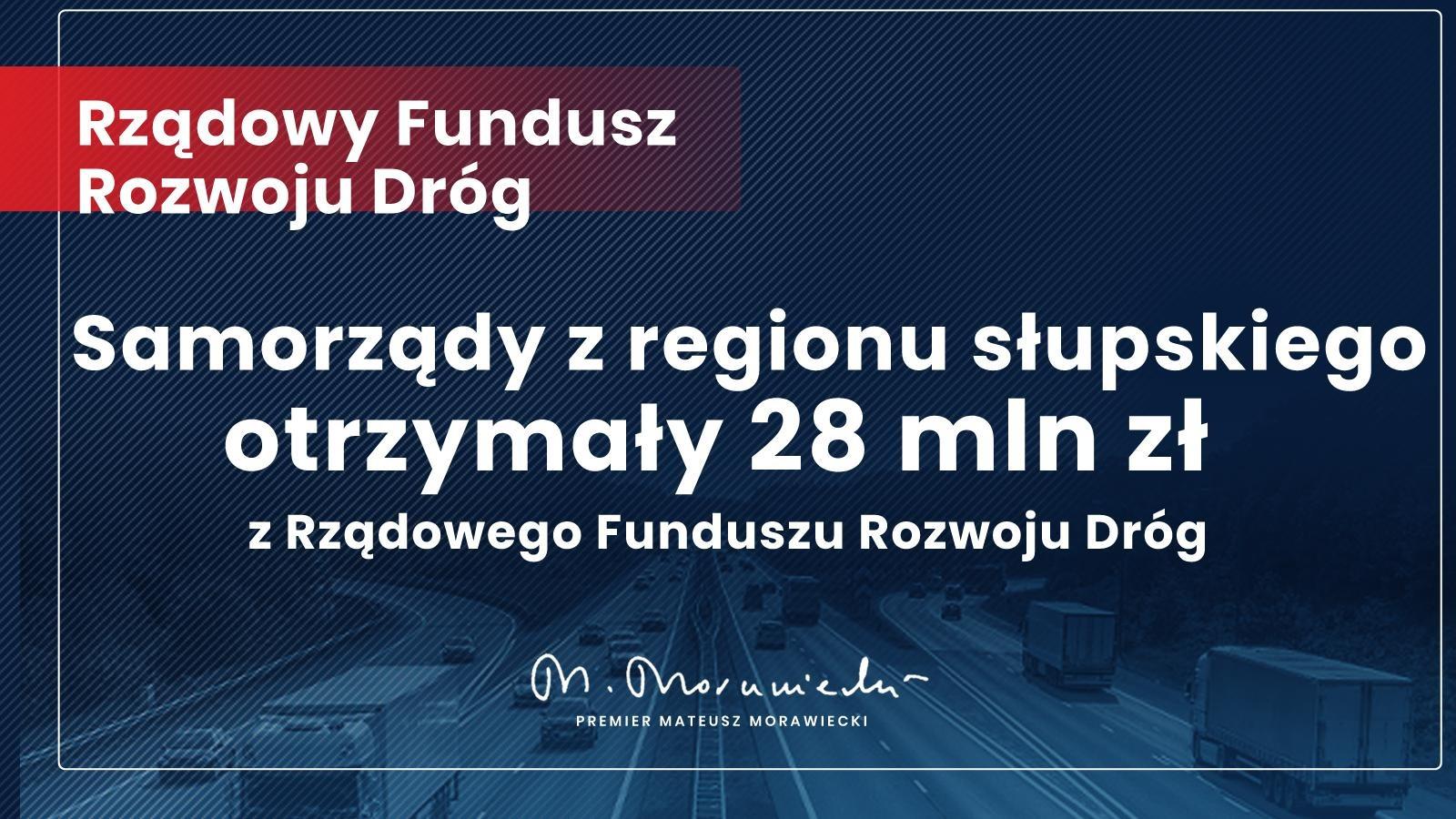 Rząd Prawa i Sprawiedliwości wspiera remonty i budowy nowych dróg w gminach i powiatach dzięki Rządowemu Funduszowi Rozwoju Dróg.