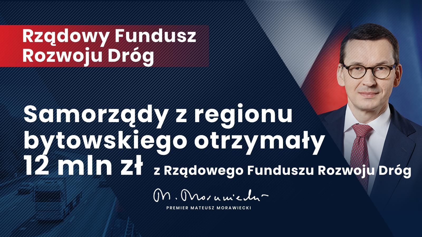 Rządowy Fundusz Rozwoju Dróg dla regionu słupskiego – 12 mln złotych!