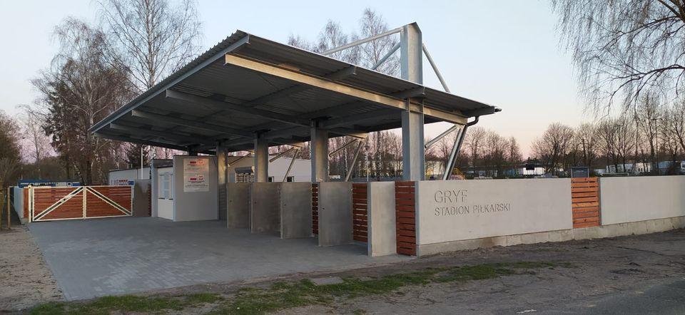 Ogromne zmiany na stadionie Gryf Słupsk przy ul. Zielonej