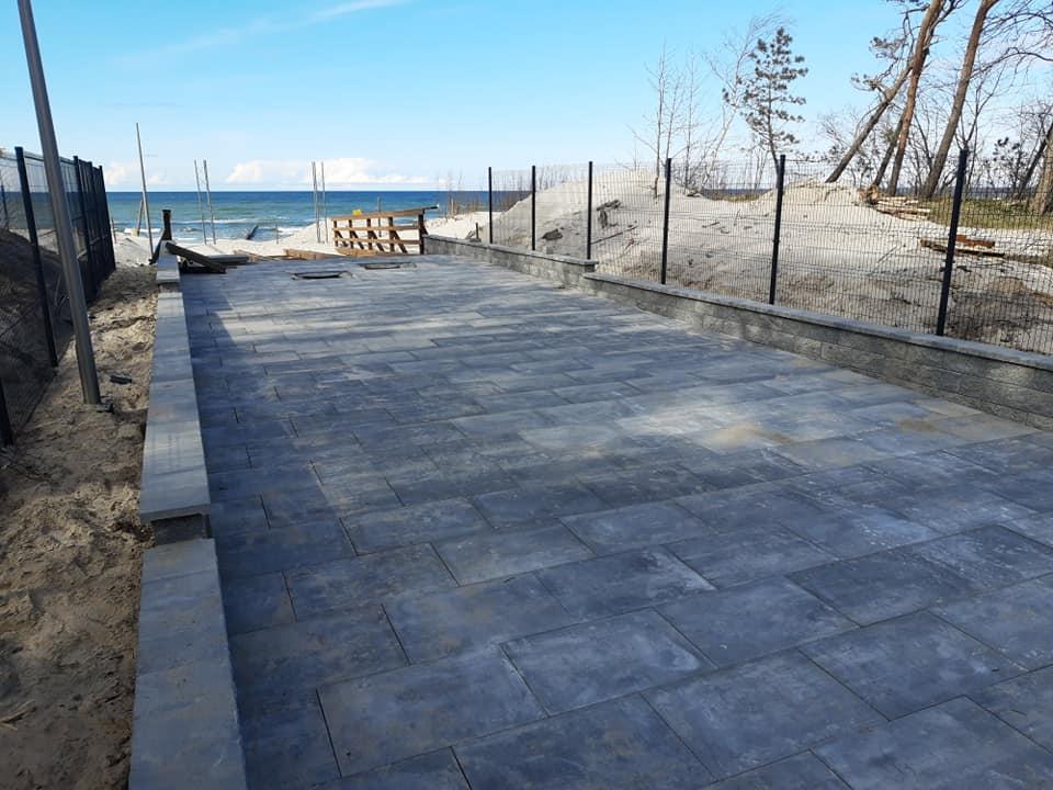 Przebudowa zejścia na plażę nr 3 w Łebie finansowana z Rządowego Funduszu Inwestycji Lokalnych