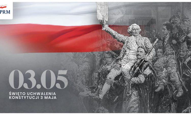 230 lat temu, 3 maja 1791 r. Sejm Rzeczypospolitej Obojga Narodów uchwalił Konstytucję 3 maja. Drugą na świecie i pierwszą w Europie ustawę zasadniczą.