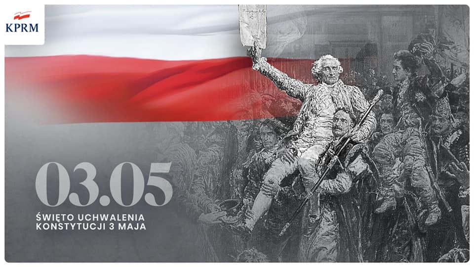 Święto uchwalenia konstytucji 3 maja!