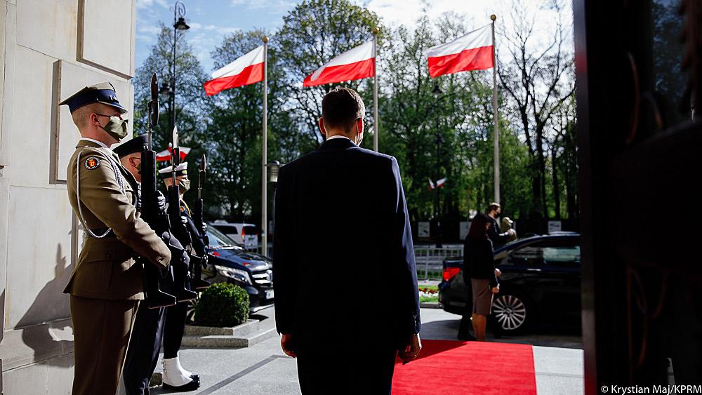 Spotkanie było okazją do podkreślenia dobrej współpracy regionalnej oraz omówienia kwestii dwustronnych Polski i Estonii