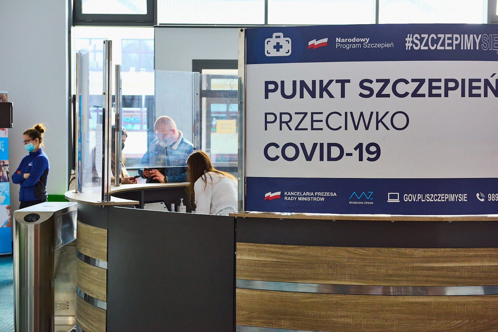 Powszechny Punkt Szczepień w Redzikowie Gmina Słupsk