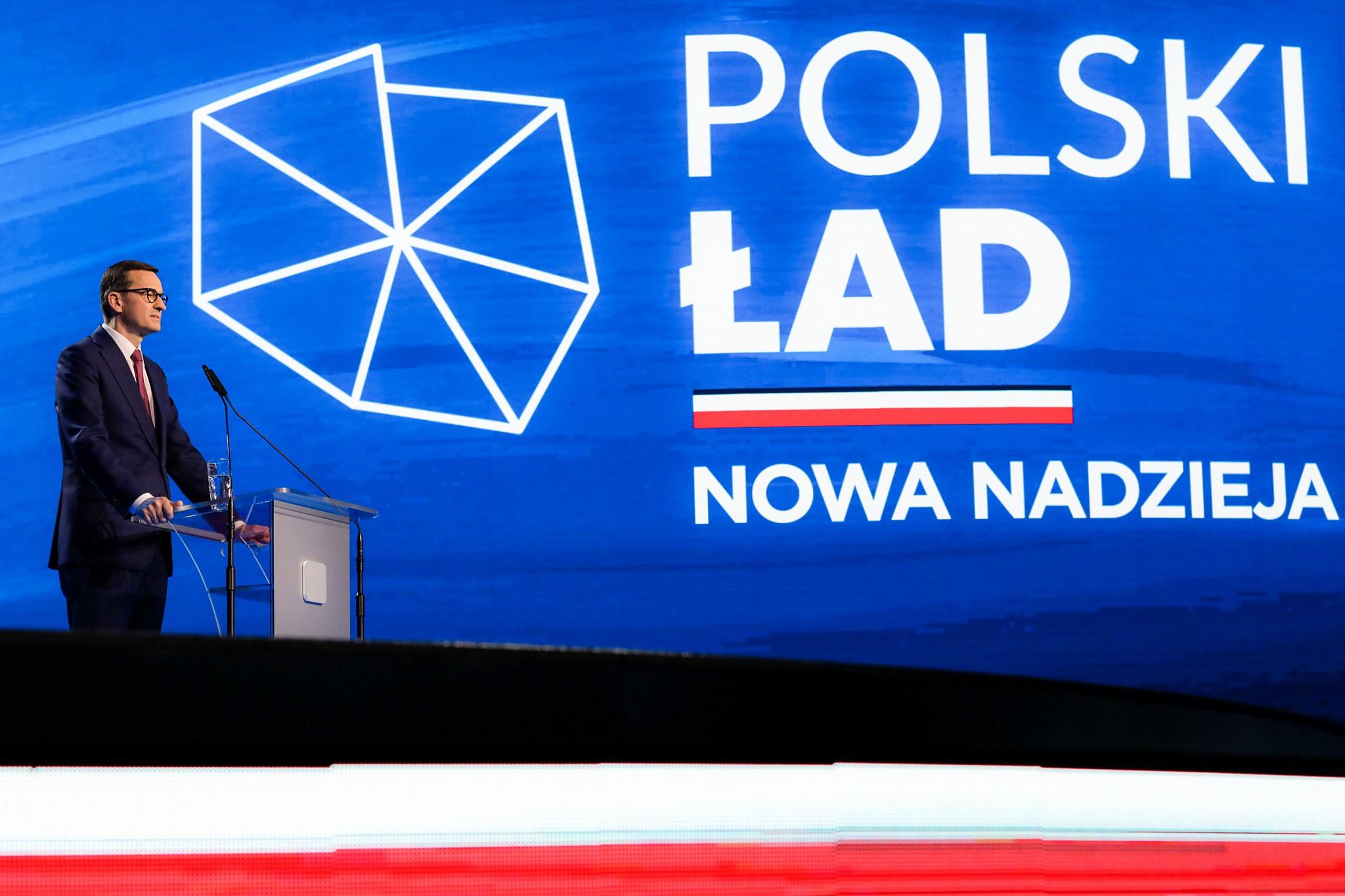 Polski Ład oparty jest o wartości. Polska sprawiedliwa, Polska równych szans - to nasz cel, głęboko osadzony w naszej tradycji i kulturze - mówił prezes Prawo i Sprawiedliwość Jarosław Kaczyński.