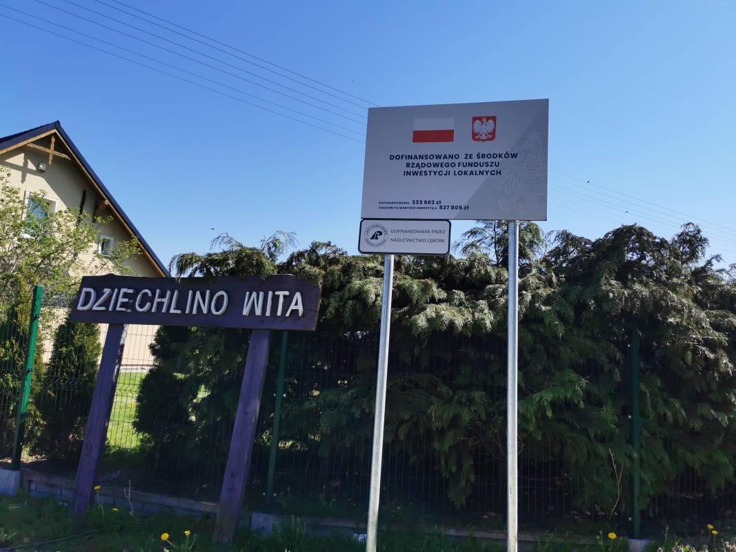 Gmina Nowa Wieś Lęborska utworzyła mapę inwestycji realizowanych na terenie swojej gminy. Jednym z przykładów wielu inwestycji realizowanych w gminie jest przebudowa drogi powiatowej na odcinku od miejscowości Leśnice do miejscowości Dziechlino. Droga ta będzie drogą dojazdową do powstającej trasy S6.