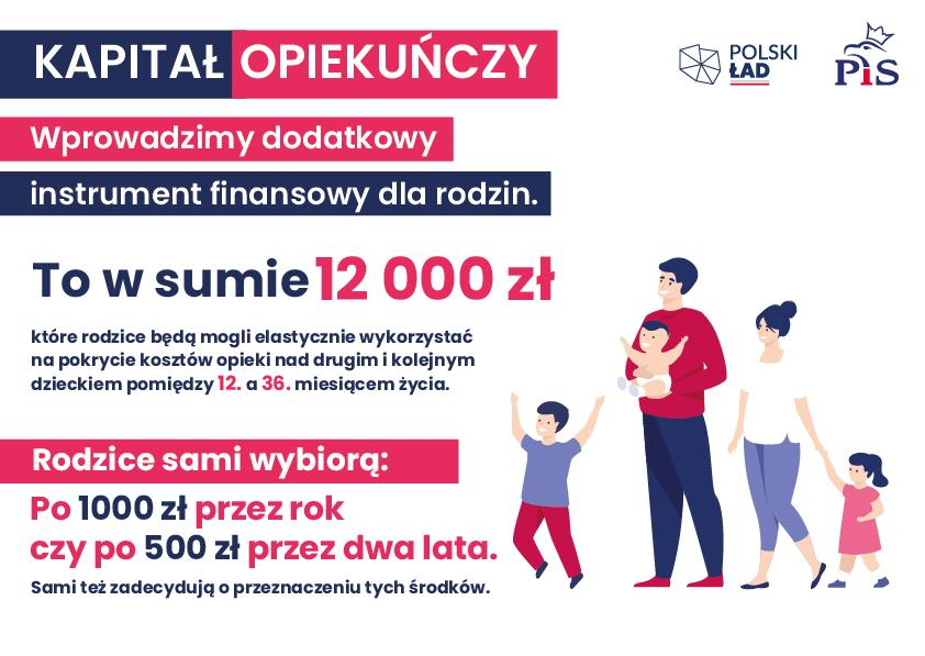 W okresie rządu Prawo i Sprawiedliwość znacząco poprawiła się jakość życia wielu polskich rodzin.